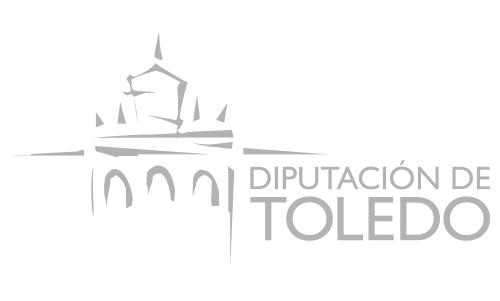 Grey logo from Diputación de Toledo